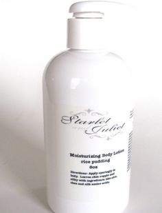 Rice Pudding Body Lotion 8oz by starletandjuliet on Etsy, $12.50