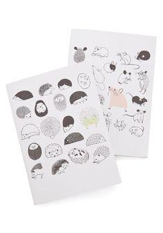 A Critter Bit of Inspiration Journal Set