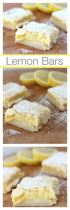 Delicious and Easy to make Lemon Bar Recipe