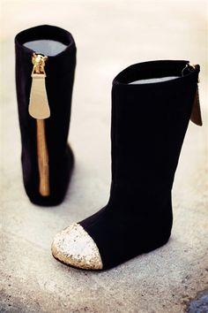Joyfolie Chloe Boot in Black on sale at www.kokoblushandcompany.com