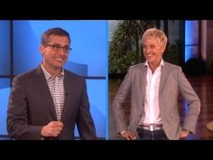 Steve Carell and Ellen Play Charades.