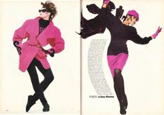 Fall Signals from……………Vogue June 1985