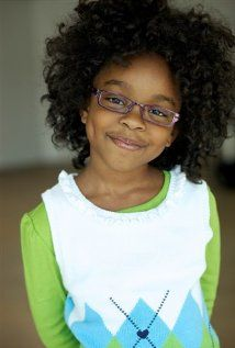 """Marsai Martin. This little girl is a really good actress and has great comedic timing, on ABC's """"Blackish""""."""