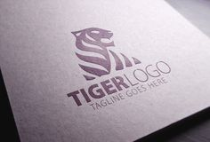 Tiger Logo by eSSeGraphic on Creative Market