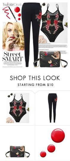 """""""TwinkleDeals"""" by gaby-mil ❤ liked on Polyvore featuring Topshop, Dollup Beauty and twinkledeals"""