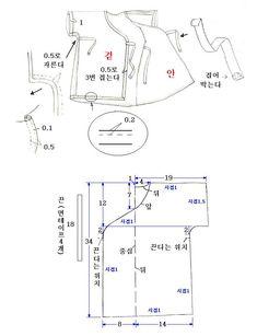 출처 : http://cafe.naver.com/ml102/53 카페 딸기공주 옷만들기