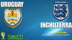 URUGUAY - INGHILTERRA - Mondiali 2014 - 19-6-2014 - Diretta live in streaming
