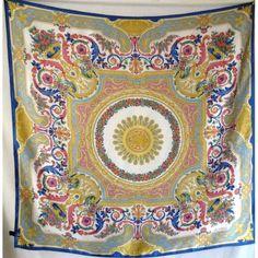 soie, scarf,vintage,carré, soie, Etro, foulard, authentique, accessoire,  silk, seidetuch cc3f15268af