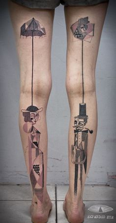 tatuaje cubismo tendencias de tatuaje que no puedes dejar pasar