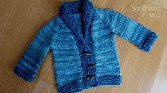 pontinhos meus: Blue shades cardigan