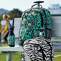 I ordered my rolling backpack for bact to school!  Got my name on it too!  PBTeens Ketchum Rolling Backpack #westelm