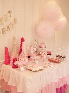 Ballet party...sweet