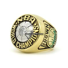 1979 Seattle Super Sonics NBA World Championship Ring.Best gift from www.championshipringclub.com for Seattle Super Sonics fans. Custom your own personalized championship ring now!