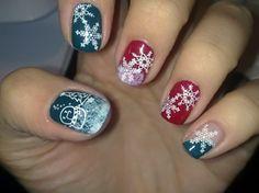 holliday nail design Christmas | christmas nail designs for short nails