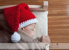 santa cap Get a stunning PDF version of this pattern onRavelryfor only $1.00, or usethese instructions on my blog today for free! Materials Yarn: Weight 4, Medium.