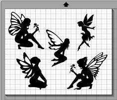 Märchen-Silhouette-Sammlung SVG PNG und von MentalEpisodes auf Etsy