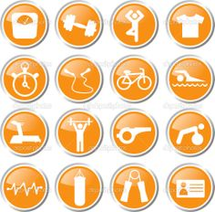 Fitness Icons // 1-6