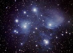 seven sisters (M45) constellation