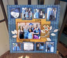 Layout: My Grandson's Graduation Day