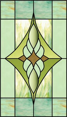 Stained glass film for bathroom window like pattern for for Victorian stained glass window film