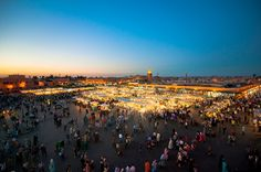 Jemaa el-Fnaa Marrakesh, Morocco
