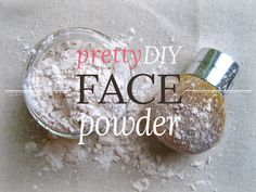 DIY face powder using cornstarch & cocoa powder. I won't go back to using expensive mineral make up after  using this!!