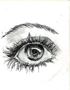 master the drawing then put a heart in the pupil... as a reflection. bs