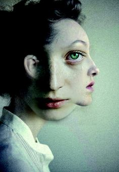 SAD, ANTONIO MORA (aka mylovt) ~ a Spanish artist who combines with talent portraits photographed in various landscapes.
