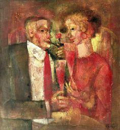 RED WINE Andrey Aranyshev (b 1956, Yaroslavl, Russia)