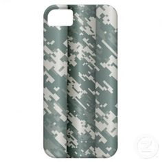 Digital camo iphone 5 case.   #Army #Military #Camo #Camouflage #Skull