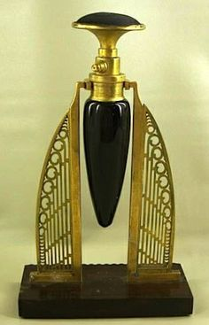 Early Patented Perfume Bottle - Art Deco