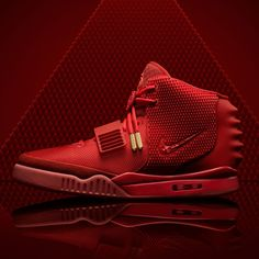 "Nike suddenly released the ""Red October"" Nike Air Yeezy 2 today via a twitter only link. Did you happen to get a pair? If so, let us know!"