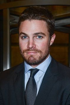 Actor Stephen Amell enters the Sirius XM Studios on January 29 2013 in New York City