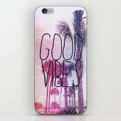 good vibes 2 iPhone Case by hannahtheurer
