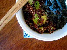 Ponzu quinoa