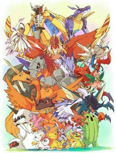 Love digimon