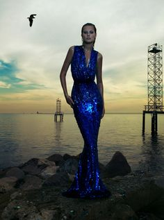 Publication: Numéro #130 February 2012 Model: Toni Garrn Photographer: Camilla Akrans Fashion Editor: Franck Benhamou