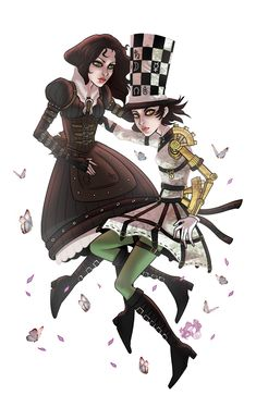 Alice: Steampunk Hattress by SeaGerdy on DeviantArt Dark Alice In Wonderland, Adventures In Wonderland, Steampunk, Alice Costume, Alice Liddell, Alice Madness Returns, Were All Mad Here, Halloween Horror, Indie Games