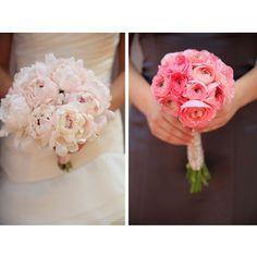 Blush bouquet inspiration - peony and ranunculus?