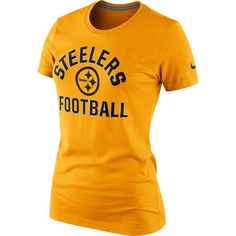 Picture of Pittsburgh Steelers Nike Women s Tri-Blend Hometown Gold T-Shirt  Steelers T. Steelers T ShirtsSteelers ... d04e0a9c2