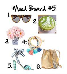 The Pink Caterpillar: Mood Board #5