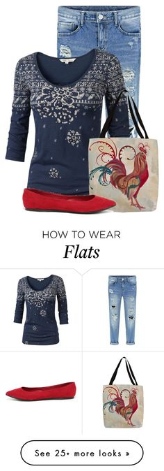 """""""Untitled #12751"""" by nanette-253 on Polyvore featuring Fat Face and Breckelle's"""