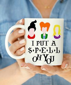 Look at this 'I Put a Spell on You' Mug on #zulily today!