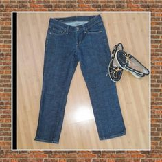 REDUCED!  Citizens of humanity capri pants 25 Kelly # 063 stretch low waist cropped size 25. Excellent condition! Citizens of Humanity Jeans
