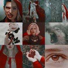 Teen Wolf Memes, Kiernan Shipka, Sabrina Spellman, Sabrina Carpenter, Red Riding Hood, Scary Witch, Scott Mccall, Aesthetic Collage, Film Movie
