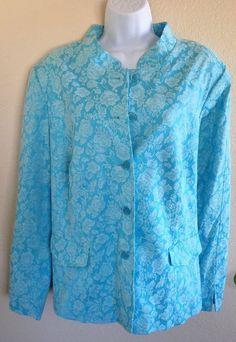 Dialogue sz 2X XXL Jacket Blazer Blue  | eBay