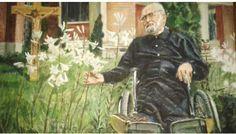 """Pr. Anton Demeter, preotul """"fără picioare"""" Anton, Painting, Painting Art, Paintings, Paint, Draw"""