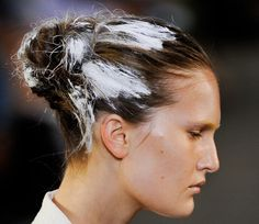 Painted Hair | Alexander Wang Spring 2011
