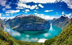 #TOURS #SWD #GREEN2STAY Fjord Tours  If you need a reason to visit Norway, this is it! Photo: Per Ottar Walderhaug- http://green2stayecotourism.webs.com/eco-tours-and-food