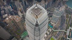 International Finance Centre aerial view at sunset, Hong Kong Island, 34b56e40e1f8b9d7d7494e7418f9f2d9